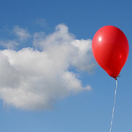 Pallone rosso profondo hd
